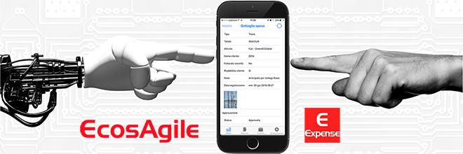 App Nota Spese digitale Intelligenza artificiale Machine Learning AI Scontrino Ricevuta Fiscale trasferte personale eExpense EcosAgile