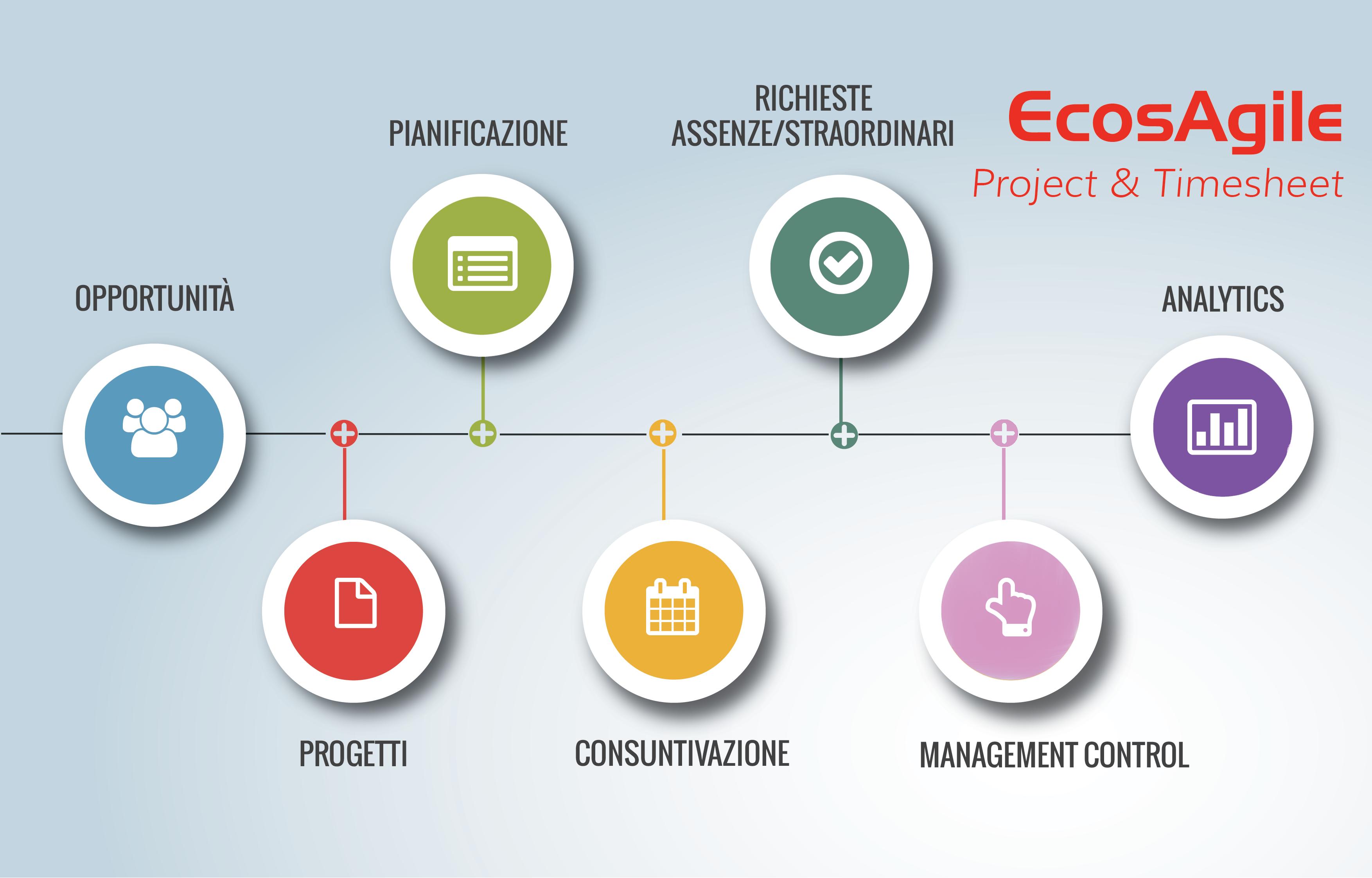 Software gestione progetti e timesheet ecosagile for Progetto software